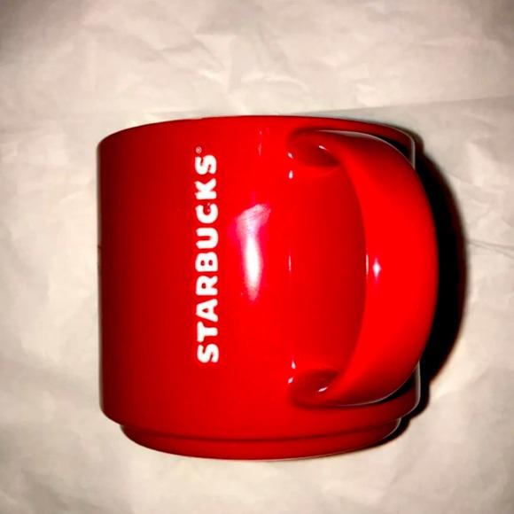 Starbucks Red Holiday Coffee Mug Limited 2012